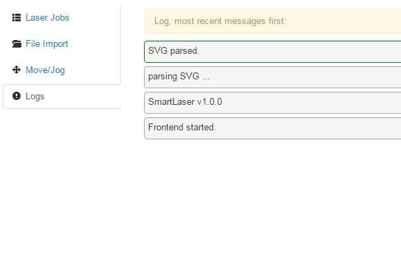 log-screen