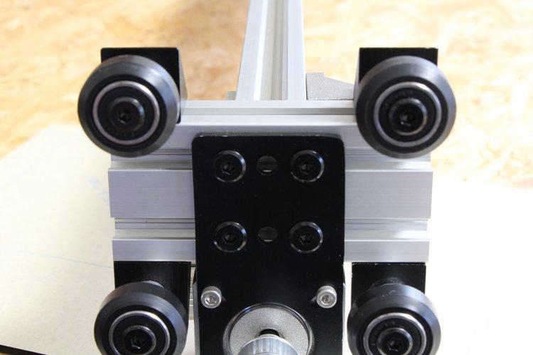 installing y-axis unit L