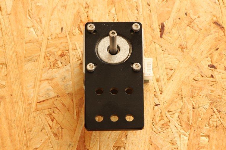 installing motor mount plate