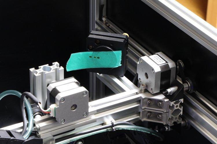 irradiating-laser