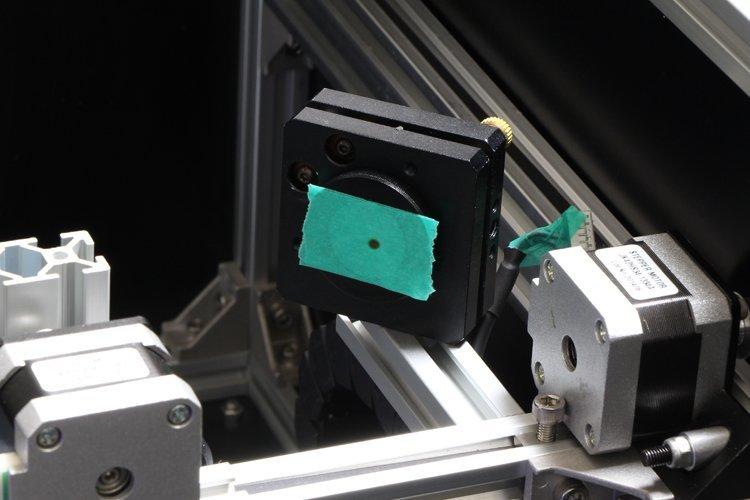 angled laser radiation