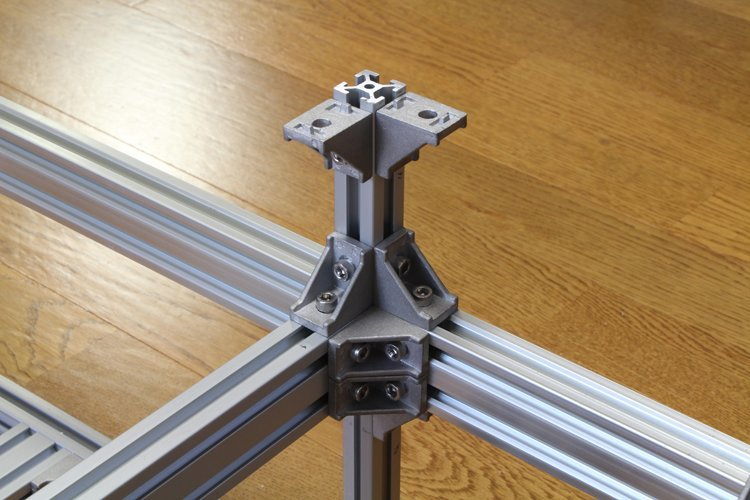 attaching aluminum frame