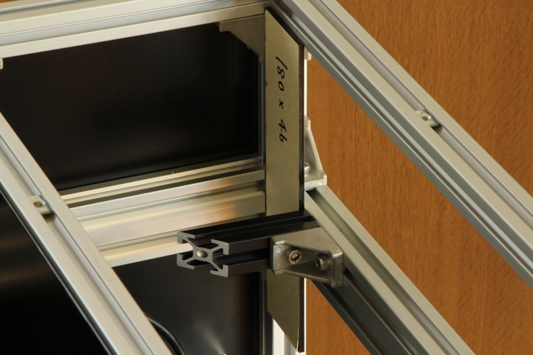 attaching #1 mirror frame