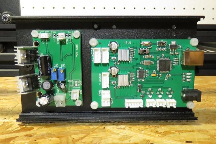 mounting control board